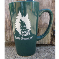 Tall Wolf Park Coffee Mug