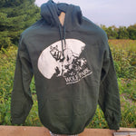 Moonlit Wolf Sweatshirts