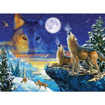 Howling Wolves 1000 Piece Puzzle