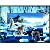 Ice Wolves 1000 Piece Puzzle