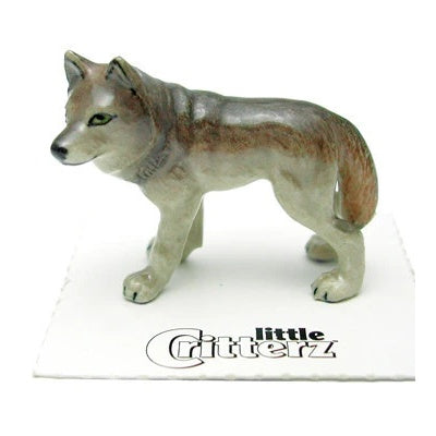 """Timber"" - Wolf Statue"