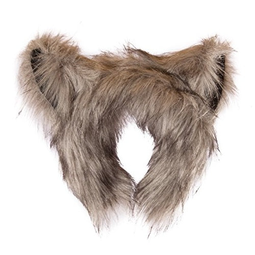 Fuzzy Wolf Ears Headband