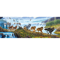 Wolves on the Run 500pc Puzzle