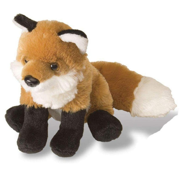 "8"" Red Fox Plush"
