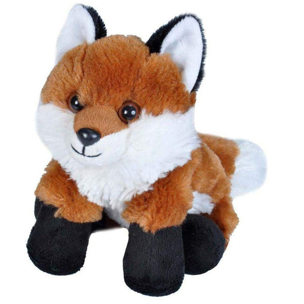 "7"" Red Fox Plush"