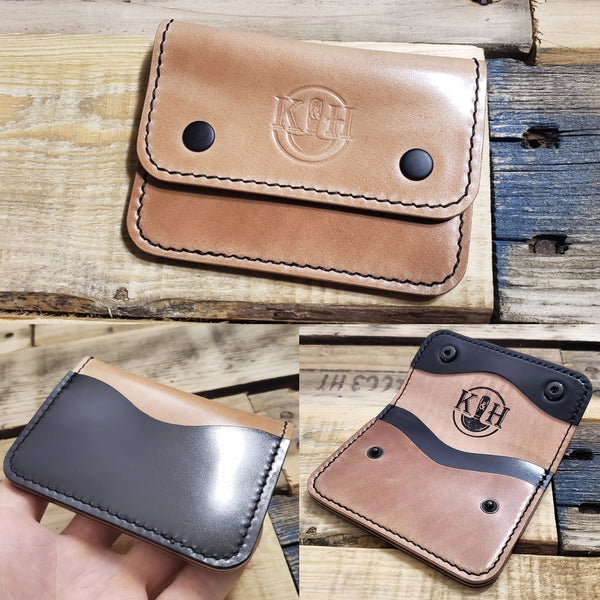 Custom 3 Pocket Akita Wallet
