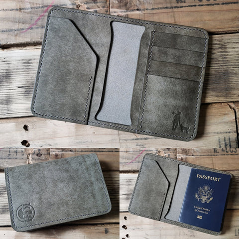 Custom Spaniel Wallet (Passport)