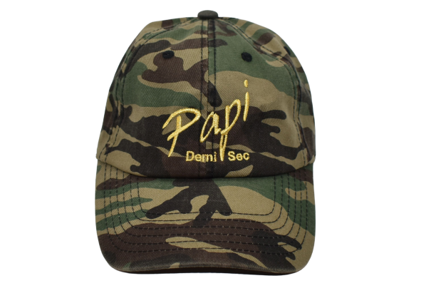 Papi Specialty Adjustable Baseball Hat in Army Green