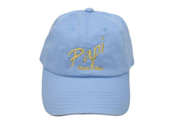 Papi Specialty Adjustable Baseball Hat in Light Blue