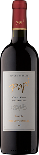Cabernet Sauvignon bottle - Papi Wines