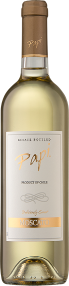 Moscato bottle - Papi Wines