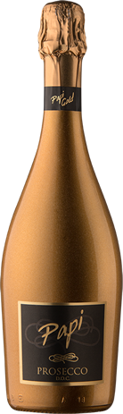 Proseco bottle - Papi Wines