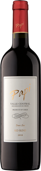Red Blend bottle - Papi Wines