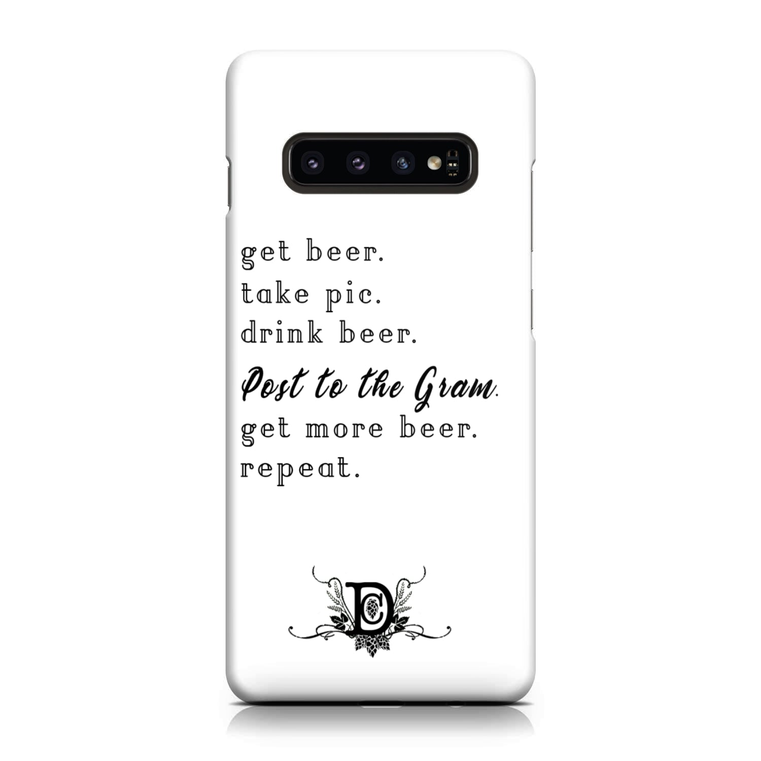 Post To The Gram Slim Phone Case