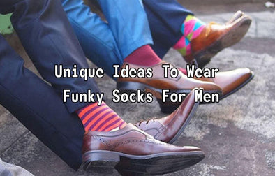 Unique Ideas To Wear Funky Socks.