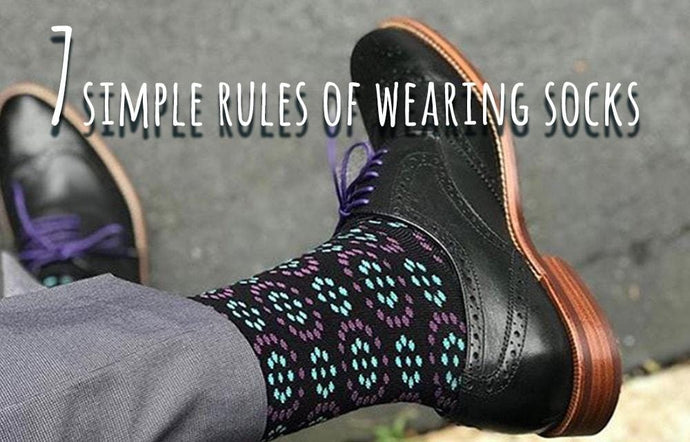 The seven rules of wearing socks