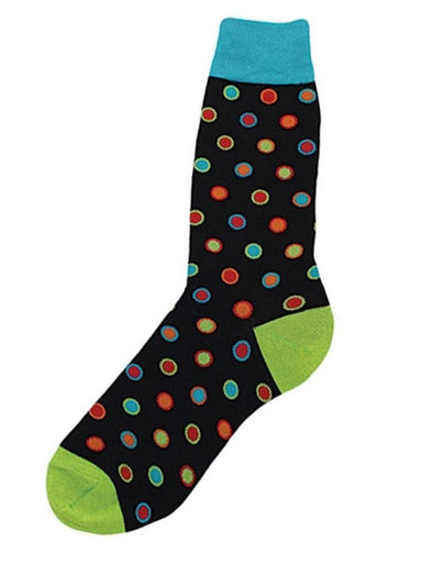 Bright Dots Novelty Socks.