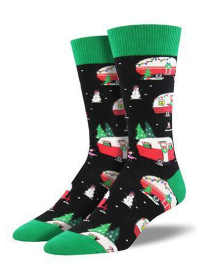 Christmas Campers Socks.