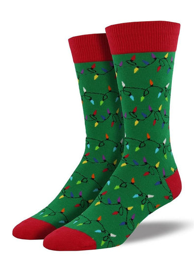 Christmas Lights Socks