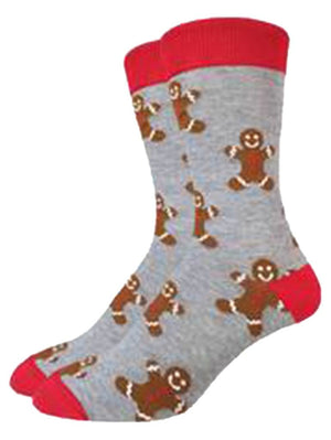 Funny socks with gingerbread