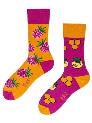 Honey and Raspberry socks.