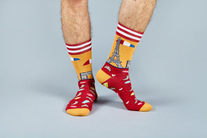 socks, buy socks, cool socks, funky socks, cute socks, stick socks, sockscene, moustard, crazy socks