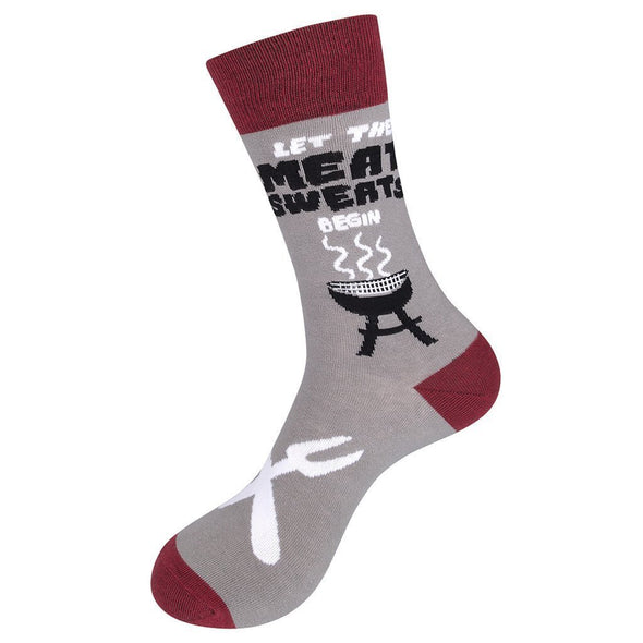 Let the Meat Sweats Begin Socks - Sockscene.com