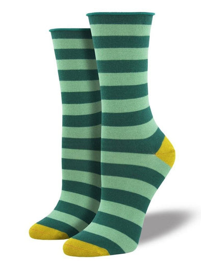 Bamboo Polo Stripe Socks.