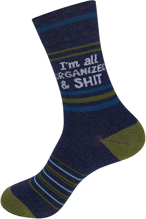 I'm All Organized and S××t Socks - Sockscene.com