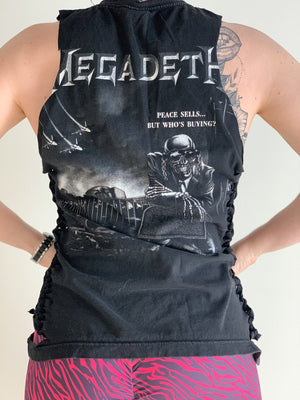 Megadeth Custom Tie up Muscle T - Iron Addiction