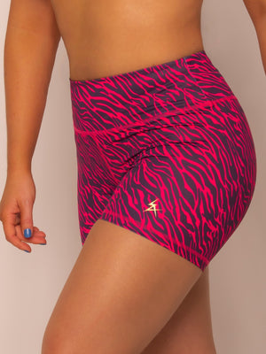 Pink Tiger - Booty Shorts - Iron Addiction