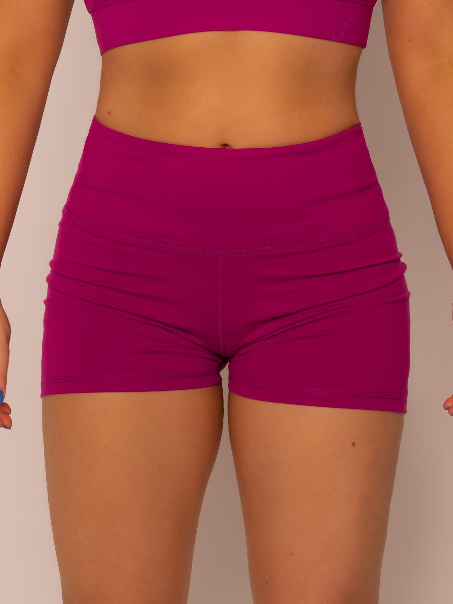 Purple Booty Shorts - Iron Addiction