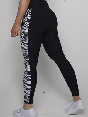 Wild and free - Zebra Leggings - Iron Addiction