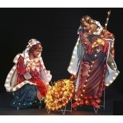 Holy Family 3 Piece Set - Fontanini® Yard Art Collection