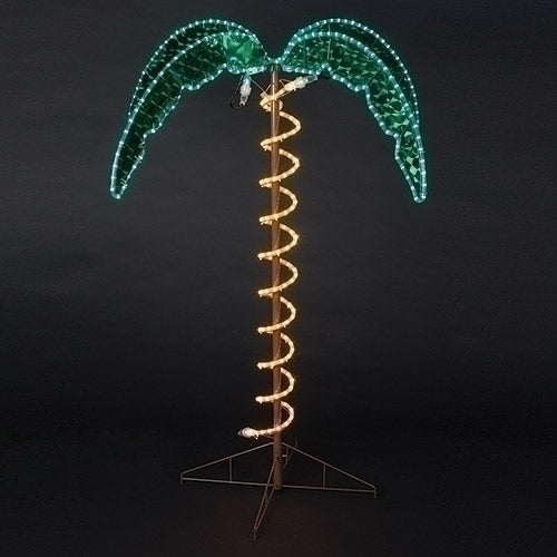 Ropelight Palm Tree  - Fontanini® Yard Art Collection