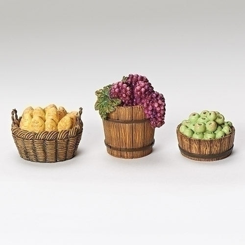 "Set of 3 Baskets - Fontanini® 7.5"" Collection"