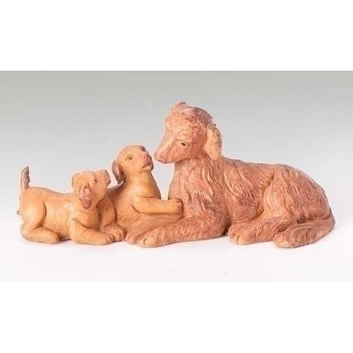 "Dog Family - Fontanini® 5"" Collection"