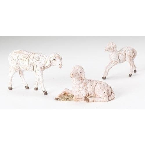 "Sheep Family, Set of 3 - Fontanini® 5"" Collection"