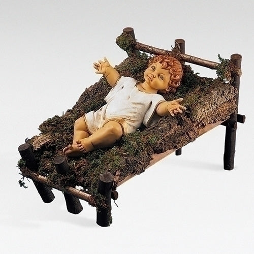 "Gowned Infant Jesus (No Manger) - Fontanini® 50"" Collection"