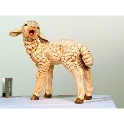 "Standing Sheep, Head Turned - Fontanini® 50"" Collection"