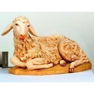"Seated Sheep - Fontanini® 50"" Collection"