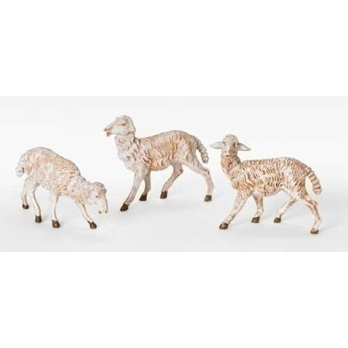 "White Sheep, Set of 3 - Fontanini® 7.5"" Collection"