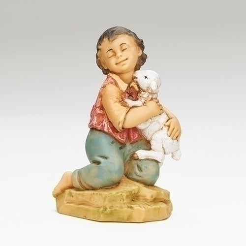 "David, Kneeling Boy - Fontanini® 12"" Collection"