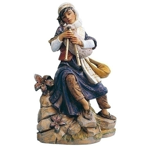 "Josiah, Bagpiper - Fontanini® 18"" Collection"