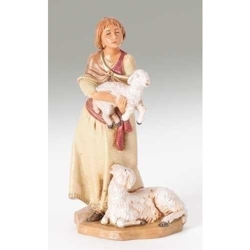 "Joan the Shepherdess - Fontanini® 5"" Collection"