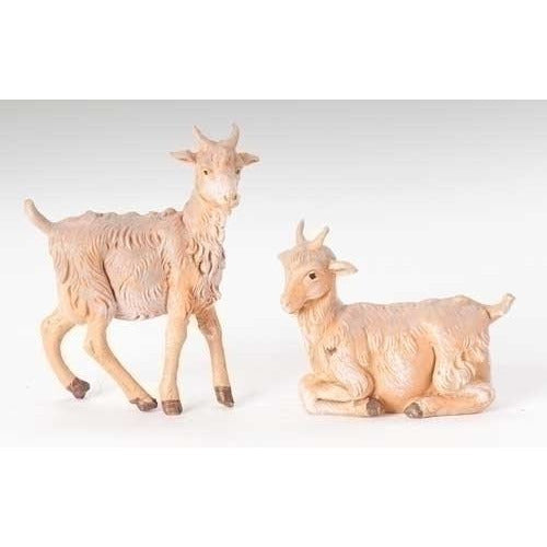 "Goats, Set of 2 - Fontanini® 5"" Collection"