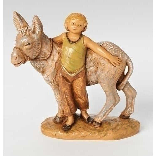 "Nisan, Boy with Donkey - Fontanini® 5"" Collection"