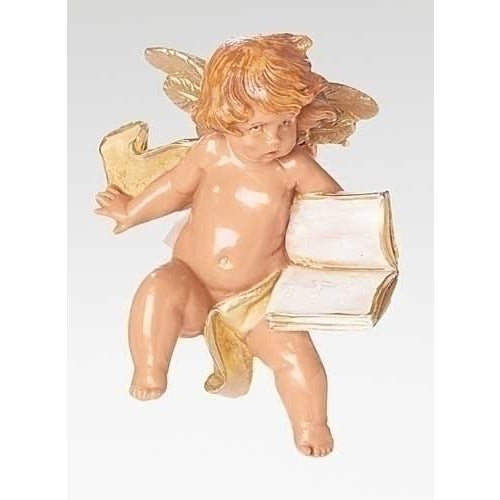 Cherub with Book - Fontanini Angelic Cherub Collection
