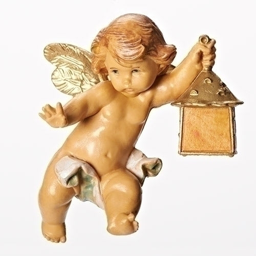 Cherub with Lantern - Fontanini Angelic Cherub Collection