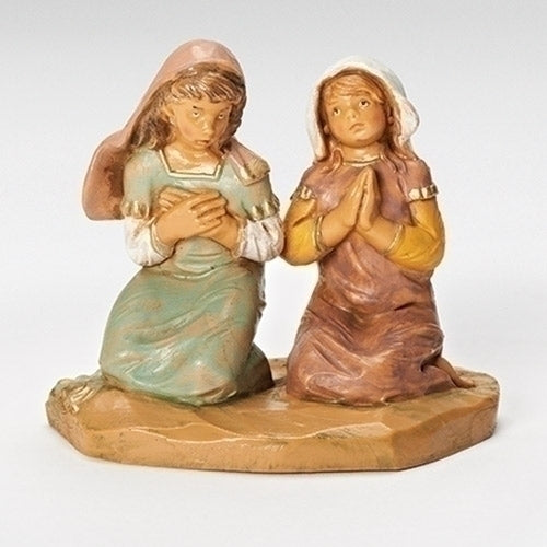 "Junia & Eve, Praying Girls - Fontanini® 5"" Collection"
